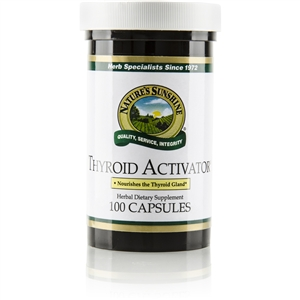 Thyroid Activator 100 Capsules
