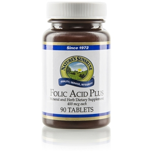 Folic Acid Plus 90 Capsules