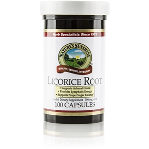 Licorice Root 100 Capsules
