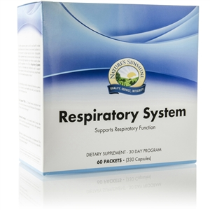 Respiratory System (30 Day Program) 60 Packets