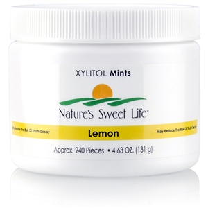 Sweet Life Xylitol Mints (Lemon) 240 Pieces