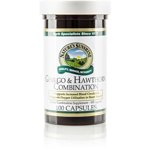 Ginkgo & Hawthorn Comb. 100 Capsules