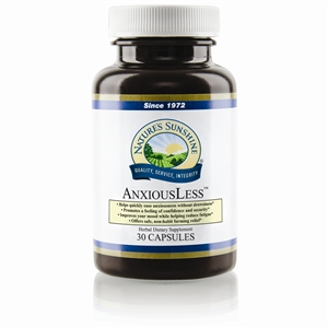 AnxiousLess 30 Capsules