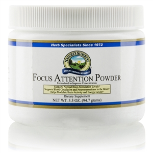 Focus Attention Pwdr. 3.3 oz