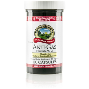 Anti Gas (Chinese) 100 Capsules