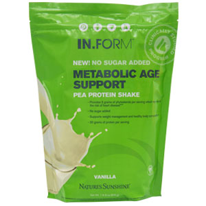 IN.FORM Pea Protein Vanilla-No Sugar Added