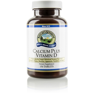 Calcium Plus Vitamin D 150 Tablets