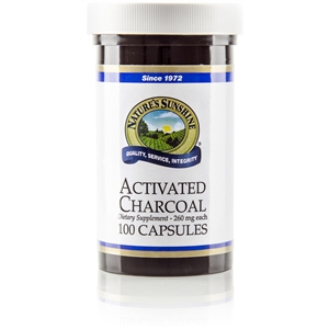 Charcoal (Activated) 100 Capsules