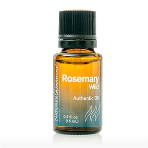 Rosemary, Wild Essential Oil (15 ml)