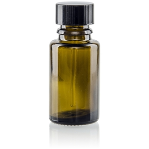 Empty Amber Bottle (15 ml) 15 ml