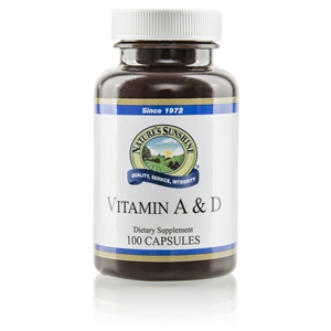 Vitamin A and D 100 Capsules