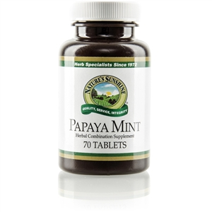 Papaya Mint 70 Chewable Tablets
