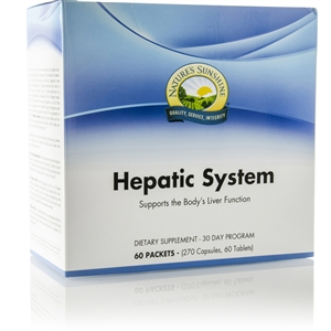 Hepatic System (30 Day Program) 60 Packets