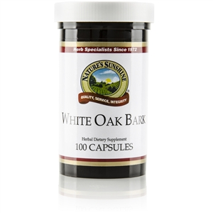 White Oak Bark 100 Capsules