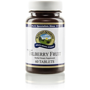 Bilberry Fruit Concentrate 60 Capsules