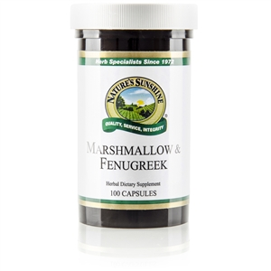 Marshmallow & Fenugreek 100 Capsules
