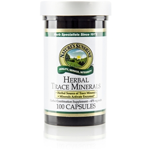 Herbal Trace Minerals  100 Capsules